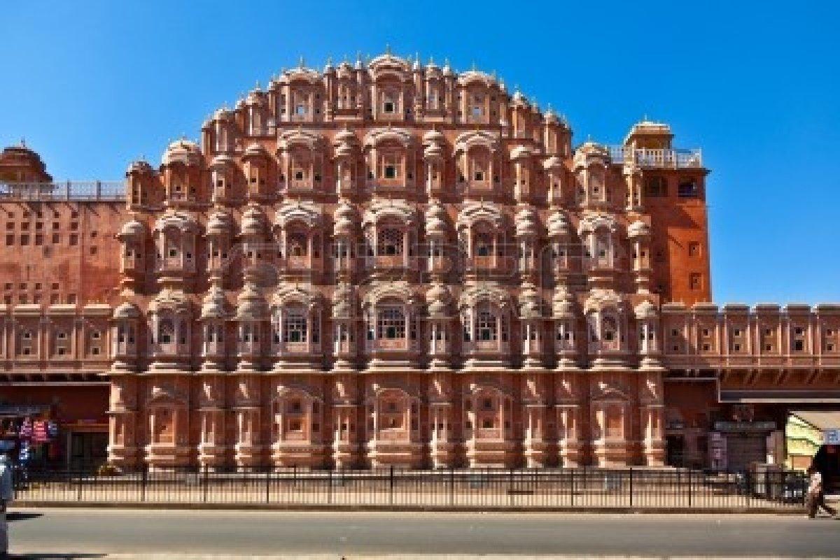 Jaipur, la Ciudad Rosa de la India Playas en el mundo
