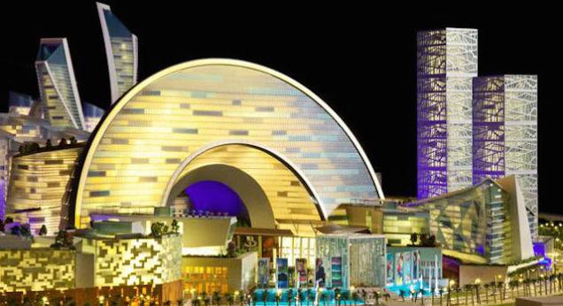 El centro comercial m�s grande del mundo ser� como una peque�a ciudad