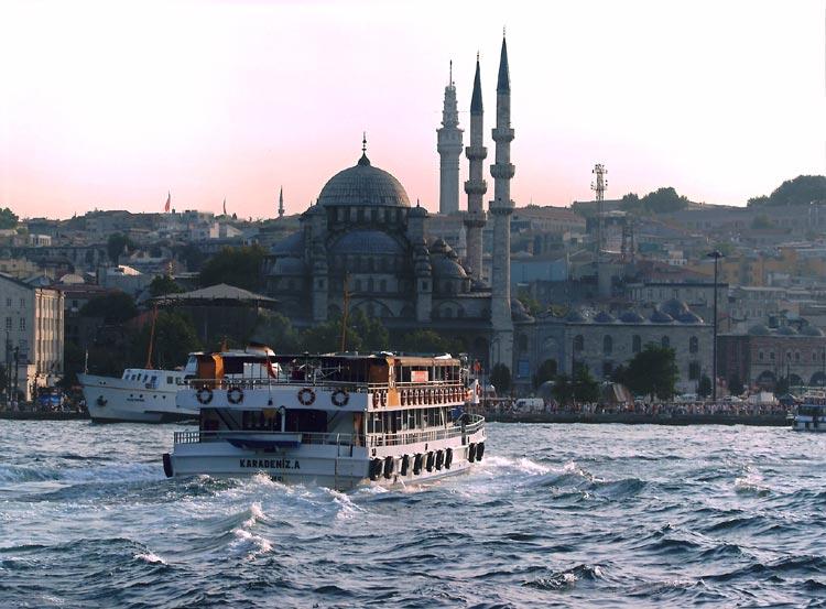 Entre Asia y Europa por el B�sforo de Estambul Playas del mundo
