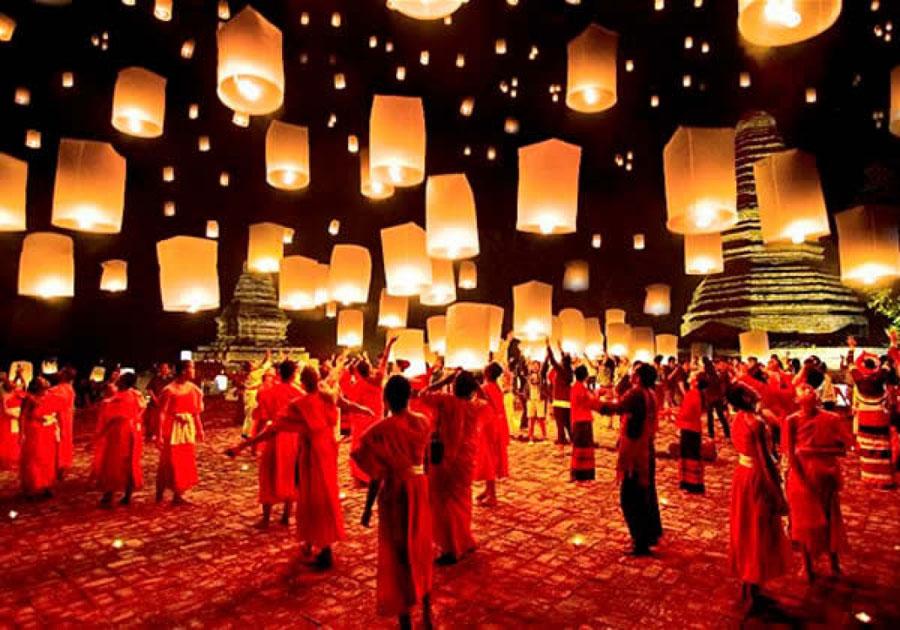 Festival de los Farolillos de Tailandia