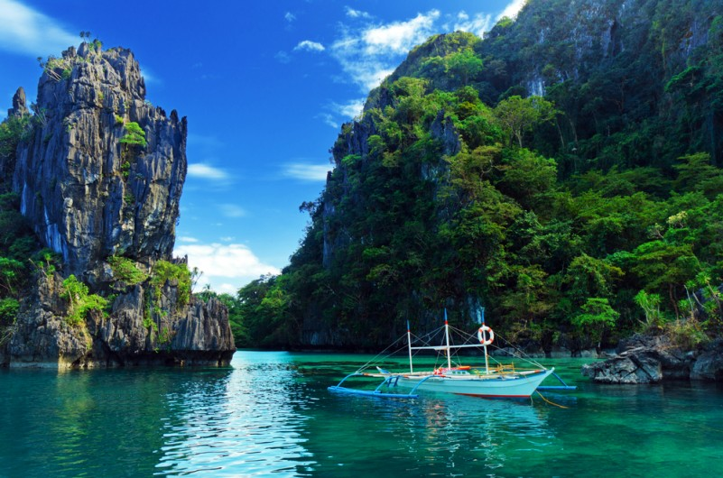 Impresionante tour a�reo por Palawan, Filipinas