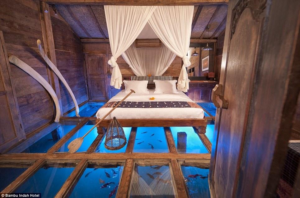 Bambu Indah: ¿Es esta la suite más original del mundo? Playas en el mundo