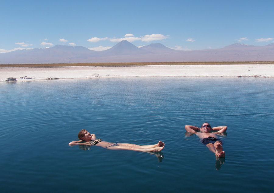Flotar en las aguas del mar Muerto, una experiencia �nica de visita por Oriente Medio Playas del mundo