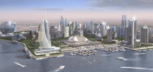 Nueva ciudad inteligente en Qatar Playas en el mundo