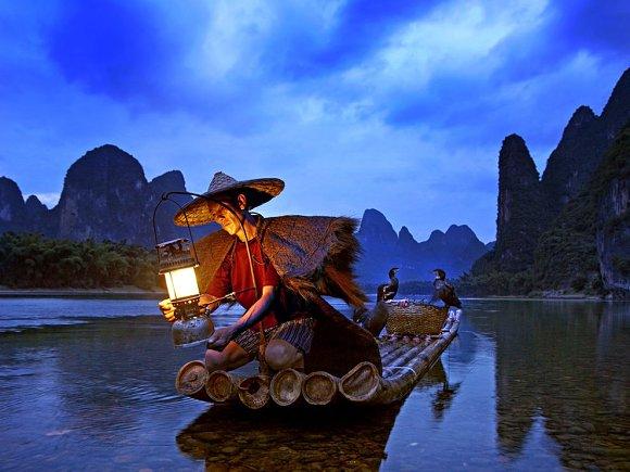 La ciudad de Guilin y crucero por el Río Lijiang en China