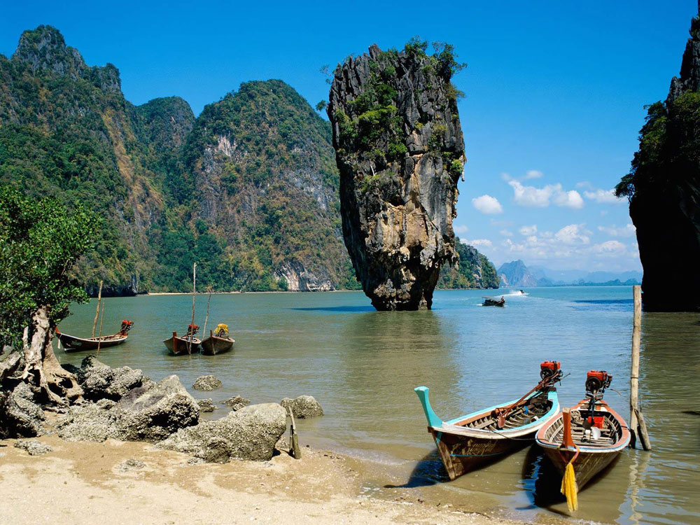 Islas Krabi, naturaleza en la costa tailandesa