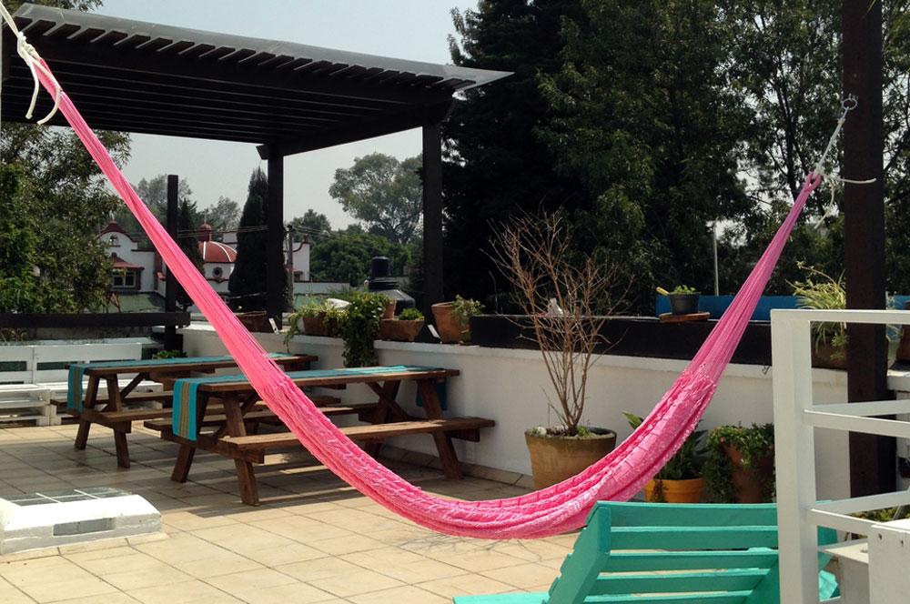 Hostal MX Coyoacán, un refugio para quedarse en el corazón del famoso Barrio Mágico de Coyoacán en México DF