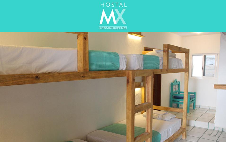 Hostal MX Playa del Carmen, alojamiento de primera en el Caribe Mexicano Playas del mundo