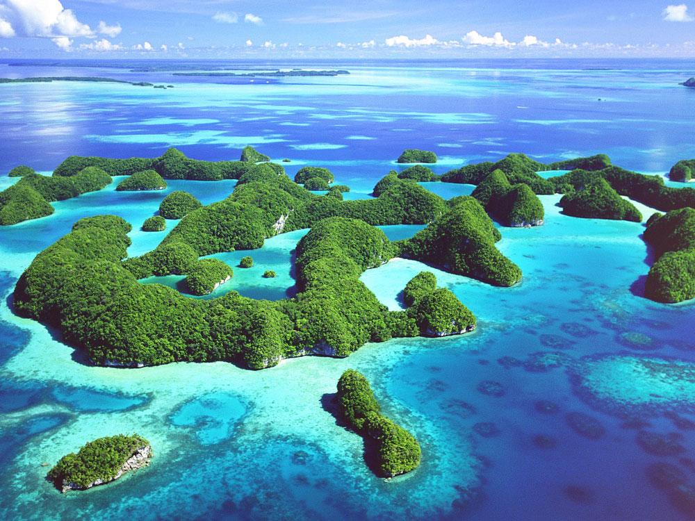 Islas Palau, un rinc�n paradis�aco Playas en el mundo