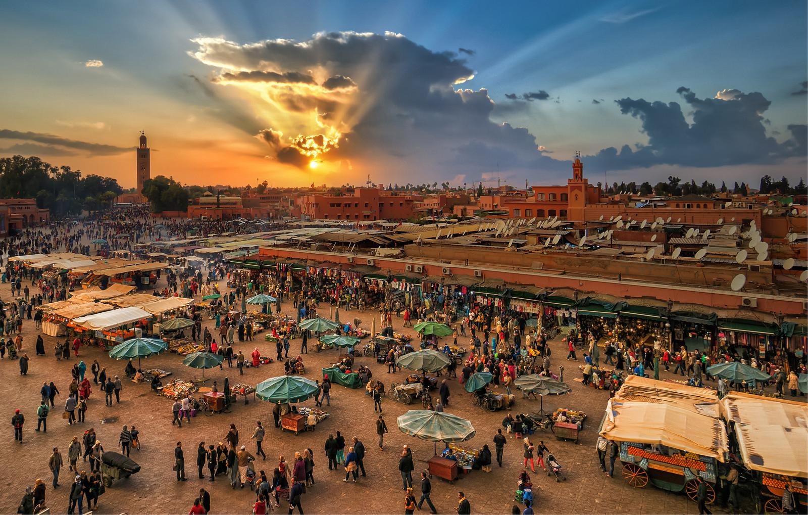 Marrakech es uno de los destinos tur�sticos de Marruecos Playas del mundo