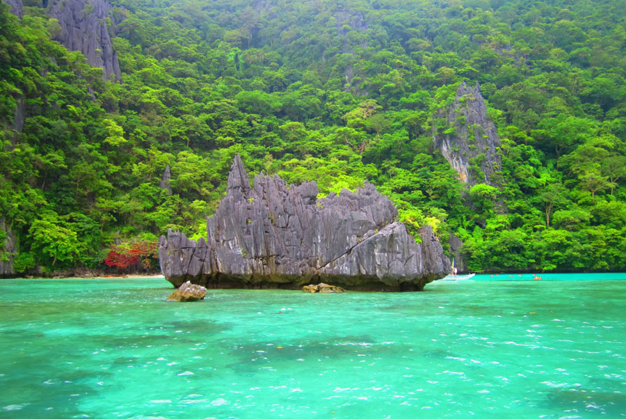 Secret Lagoon Beach El Nido, Filipinas