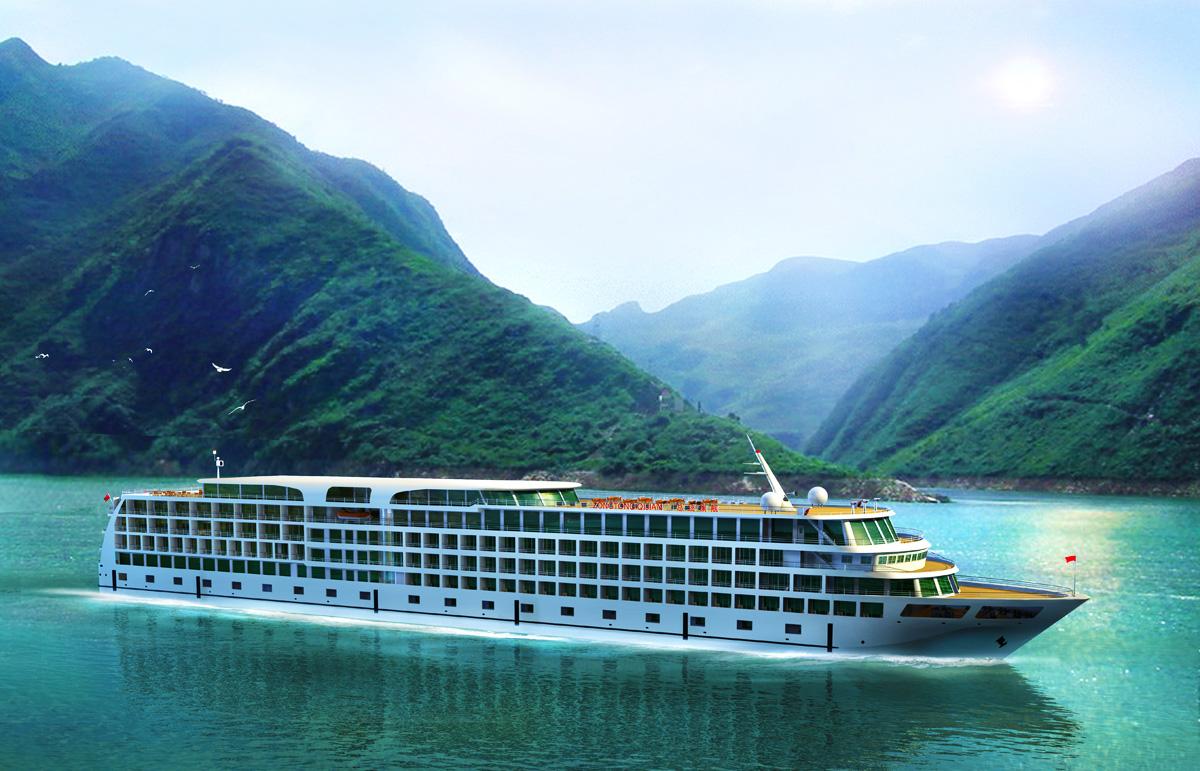 Viajando en crucero por el r�o Yangtz� Playas del mundo